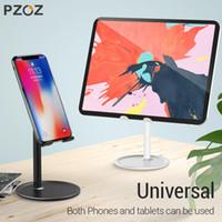 휴대 전화 마운트 홀더 PZOZ 홀더 스탠드 데스크 XS 최대 XR 7 6 iPad Galaxy S10 S9 S8 노트 8 9 모바일 태블릿