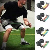 1 مجموعة المحمولة قوة الساق حزام الفرقة التدريب تجريب حزام اللياقة البدنية مجموعة ل ركلة رالي الملاكمة التايلاندية taekwondo كرة السلة الرياضة