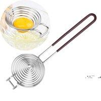 NewStainless Steel Egg Separatore di uova Yolk Divisore Uova bianche Strumento di separazione bianche Gadget e accessori Gadget e accessori EWE6317
