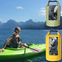 Waterproof Dry Bag Roll Top Floating River Trekking Backpack Outdoor Swimming Bags For Kayaking Rafting Boating Travel Pool & Accessories