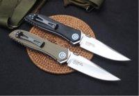 ZT Zero Tolerancia 0372 ZT0372 Cuchillo plegable de bolsillo 9CR18MOV Sistema de rodamientos de bolas G10 Manejar cuchillos de regalo de Navidad