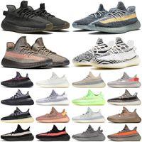 yeezy yeezy 350 v2 kanye west Kül Mavi İnci Taş mens bayan ayakkabı cinder zyon erkekler kadınlar zebra Kil yetiştirilen Krem Karbon Açık eğitmenler spor sneakers