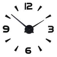 Wall Clocks DIY Fashion Creative Living Room Decorative Sticker Acrylic Clock