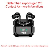 Good as apple airpods pro wireless bluetooth headphone earphones earphone headset sport stereo with ANC noice cancelling Rename GPS Led display BT5.2