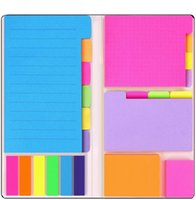 Divider Sticky Notes Set Memo Pad Self Adhesive Bookmark Scheduler Paper Stickers School Office Supplies