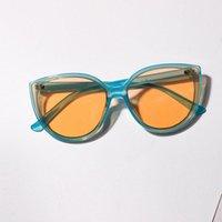 Kadınlar Retro Klasik Poligon Boy Güneş Gözlüğü Erkekler Marka Tasarımcısı Güneş Gözlükleri Vintage Metal Çerçeve Kedi Göz Gözlük UV400