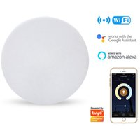 Tuya WiFi LED Ceiling Light Smart Voice Control Lamp 110V 220V 24W Waterproof Morden For Kitchen Bedroom With Alexa Google Home Lights