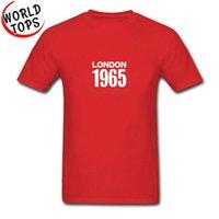 Vereinigtes Königreich London 1965 Vater T-Shirt Europe Große Größe Großbritannien Festa Nazionale Straße Tshirts 100% Baumwolle Sweatshirt Kleidung Männer T-Shir