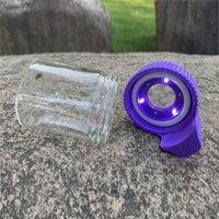 Boquet de verre de rangement luminescent Scellé Transparent Observation Conteneur 155ml Couvercle de lampe de lampe en plastique à LED à LED pour un transport facile