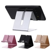 Cell Phone Mounts & Holders 1Pc Aluminum Holder Portable Metal Stand Cellphone Tablet Mobile Support High Quality Accessories