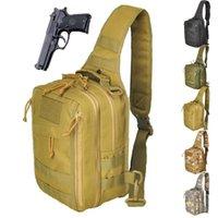 야외 가방 군사 전술 가슴 가방 스포츠 사냥 남자 몰리 싱글 숄더 wading 팩 1000D 나일론을로드 할 수 있습니다.