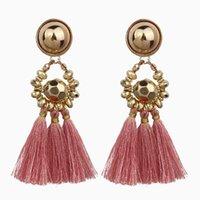 70%OFF Fashion tassel metal Earrings femininity multi color versatile trend women accessories T642