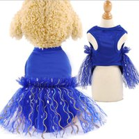 Dog Apparel XS-XL Solid Breathable Pet Dress Skirt Vest Mesh Clothing For Puppy Cat