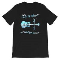 DMB - 인생은 짧지 만 남성용 여성용 여자 셔츠 남녀 티셔츠 스웨터를위한 달콤한 특정 그래픽 티 선물