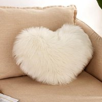 Cushion Decorative Pillow Soft Plush Cushion Cover Case Fluffy Faux Fur Pillowcase 40*50cm Sofa Chair Decoration Home Decor