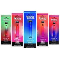 BANG XXL SWITCH DUO Disposable E Cigarette Kit Vape Pen Device 2500 Puffs 1100mAh Prefilled Vapor Bar Stick
