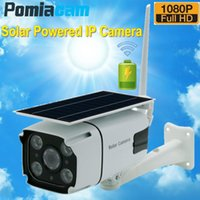 Solar Panel Continuous Rechargeable Battery Powered Camera 1080P Full HD Outdoor Indoor Security WiFi IP N8 Cameras