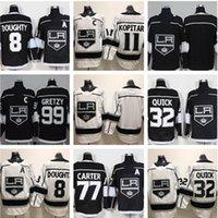 Los Angeles Kings Hockey Jerseys 8 Drew Doughty 11 Anze Kopitar 23 Dustin Brown 32 Jonathan Quick 77 Jeff Carter 99 Wayne Gretzky Jersey