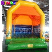 Hızlı Teslimat Ticari PVC Dinozor Karikatür ile PVC Şişme Sıçrama Evi, Kabarık Şato, Satılık Çocuklar Jumper