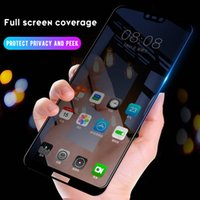 9H Full Privacy Tempered Glass protector For iPhone 12 11 Pro X XS MAX XR 6 6S 7 8 Plus 35° Glare Peeping Screen High Definition