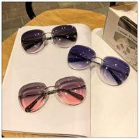 Gafas de sol de gafas de sol de gafas de sol de grano gris de gafas silvestreras enrollares