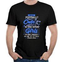 남자의 티셔츠 치어 리더가 귀여운 유행 복고풍 인쇄 faddish t 셔츠 휘트니스 꽉 슬림 맞는 Tshirts 남성용