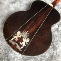 Aangepaste gitaar Hoge configuratie vormen de verschilkoppeling