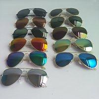 Polarisierte Linse Pilot Sonnenbrille für Männer Frauen Marke Vintage Sport Sonnenbrille Designer Farbe Film 11 Farben