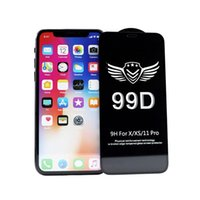 99D Tempered Glass Screen Protector Film For iPhone 13 12 mni 11 pro X XR XS max Samsung A51 A71 A81 A91 Full Glue Films Without Retail Package