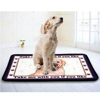 Kennels & Pens Large Pet Dog Cat Bed Puppy Non-slip House Soft Warm Kennel Cartoon Mat Plush Blanket Labrador Golden Retriever