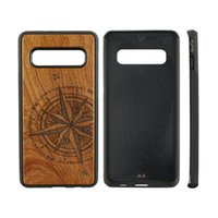 Blank Wood Phone Cases For Samsung Galaxy S9 S10 S20 Note 8 9 A8 Wooden Bamboo TPU Fashion Luxury Design Custom LOGO Back Cover