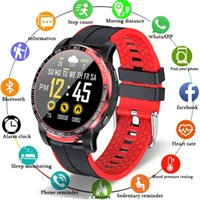 Smart Watch Phone Full Touch Screen Sport Fitness IP68 Waterproof Bluetooth Connection For Android ios smartwatch Men+Box