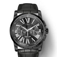 Wristwatches Switzerland Men Watches Chronograph Manual Mechanical Men's Clock Sapphire Relogio Masculino L16011-2