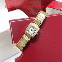 2021 Hoher Qualität Luxus Tank Francaise Damen Marke Quarzuhr Uhren Joker Armbanduhren Klassischer Quadrat Santos Womens Watch D3410