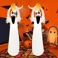 Halloween decoration costume glowing little ghost pumpkin white ghosts tree inflatable garden decorations inflatables model HWB10038