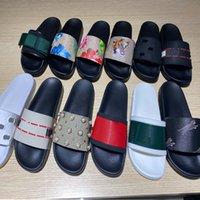 Hızlı Yüksek Kalite Slaytlar Sandalet Adam Kadın Terlik Dişli Altları Kapak Terlik Kutusu Ile Rahat Ayakkabılar Sneakers Espadrilles Topuk Home011 01