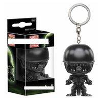 Funko pop alien battle iron warrior predictor pendant key chain