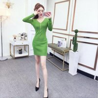 Tileewon New Mulheres Camisola Computador Kintted Cor Sólida Sexy Lace Dress Slim Slim Camisola de Inverno Pullovers LZ3321