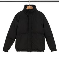 2022 Страх перед Богом мужские дизайнеры куртки Классические буквы с длинным рукавом туман хлопчатобумажные одежды Высококачественные женские пальто S-XL
