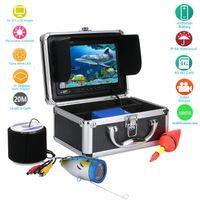Cameras 20M 30M 50M 7'' Color Digital LCD 1000TVL Fish Finder HD DVR Recorder Waterproof Fishing Video Underwater Camera