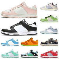 BLANCHE TOP TOP Quality Formateurs Dunks Running Chaussures Femmes Chunky Dunky Green Glow Street Street Hawker Saint Valentin Coast Pearl Orange Pearl Sb
