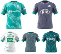 Venda 20-21 Super Rugby Jersey Zealand Super Blues Hurricanes Crusaders Highlanders Chefess Rugby 2021 Camisas.