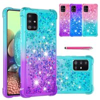 Phone Cases For samsung Galaxy A01 Core A02 M02 A02s A03S A20 A30 A20e A10e A20s A21 A21S A31 A40 A41 A50 A51 A70 A70S A71 TPU Protective Shockproof Liquid Quicksand Cover