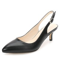 Robe chaussures Odinokov Femmes Designer Pompes 5 cm Talons hauts Sexy Scarpins Scarpins Office Dydy Party Mariage Bas Bal Prom