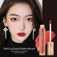 Lip Gloss espelho esmalte brilhante oleoso com duração de alto renderização de vidro de água fácil de cortar o batom líquido impermeável TSLM1