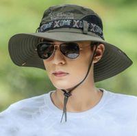 Sombrero de pesca de verano hombre mujer ancho de malla transpirable gorra gorras de playa sombreros sol hombres al aire libre
