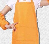 11 Colores Adult Delantales Pocket Craft Cocinar Hornear Arte Pintura Adulto Cocina Cena BIB Delantales Delantales 330 V2