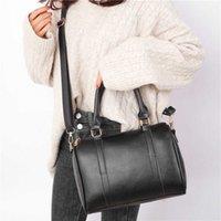 5 unids / sets Bolsas de mujer Señoras Color sólido de las mujeres Bolsa de cremallera simple Nueva Moda 5 unids Hombro Mensajero Bolsa Sac Bandauliere Femme B0BA #