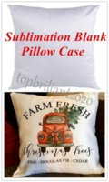 Plain White Sublimation Blank Pillow Case Fashion Cushion Pillowcase Cover for Heat Press Printing Throw Pillow Covers Decorative