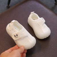 First Walkers Children's Boys And Girls Breathable Mesh Sneakers Toddler Soft-soled Comfortable Baby Shoes